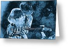 Stevie Ray Vaughan - 12 Greeting Card