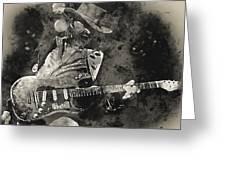 Stevie Ray Vaughan - 13  Greeting Card