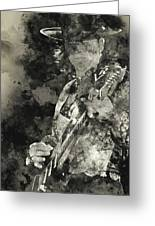Stevie Ray Vaughan - 15 Greeting Card