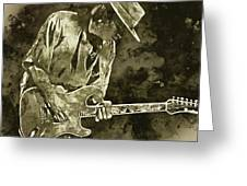 Stevie Ray Vaughan - 19 Greeting Card
