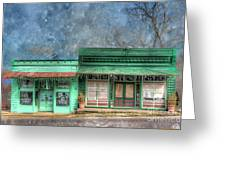 Stewards General Store And Post Office Greeting Card