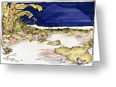 Sticker Landscape 4 Oasis Greeting Card