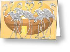 Sticking Together Greeting Card