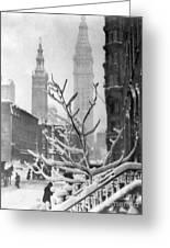 Stieglitz: New York, C1914 Greeting Card