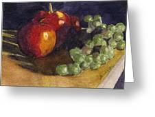 Still Apples Greeting Card