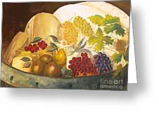 Still Life - Classical Banquet Greeting Card