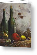 Still Life 3 Greeting Card by Harvie Brown