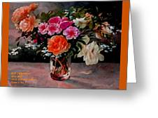 Still-life For Anne Catus 1 No. 1 H A Greeting Card