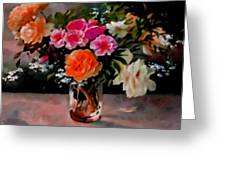 Still-life For Anne Catus 1 No.1 H B Greeting Card