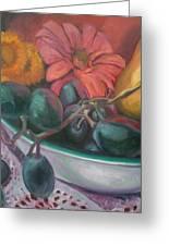 Still Life Grape Medley Greeting Card