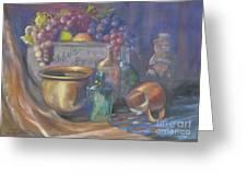 Still Life Honey Bear Greeting Card