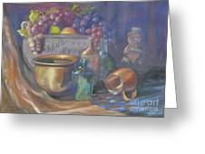 Still Life Honey Bear Greeting Card