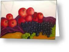 Still Life Of Fruit Greeting Card