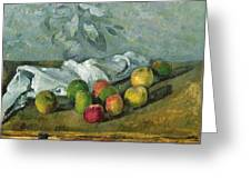 Still Life Greeting Card by Paul Cezanne
