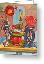 Still Life Reconstructed Greeting Card