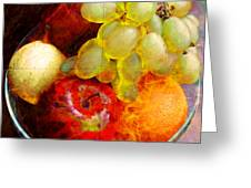 Still Life Tiles Greeting Card
