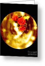 Still Life Water Globe Affect Greeting Card