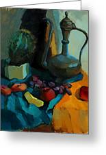 Still Life With A Cactus Greeting Card