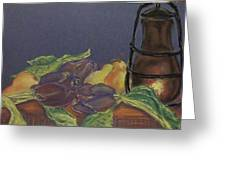 Still Life With Artichockes Greeting Card