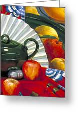 Still Life With Citrus Still Life Greeting Card