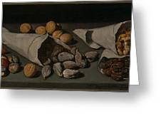 Still Life With Dried Fruit Greeting Card