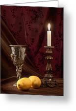 Still Life With Lemons Greeting Card by Tom Mc Nemar