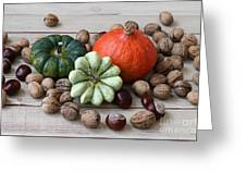 Still Life With Products Of Autumn Greeting Card