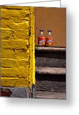 Still Life With Snapple Greeting Card