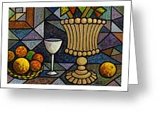 Still Life With Vase Greeting Card