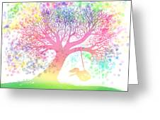 Still More Rainbow Tree Dreams 2 Greeting Card