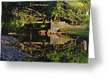 Still Water Reflections Greeting Card
