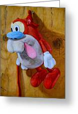 Stimpy Greeting Card