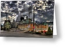 Stimson Lumber Mill Greeting Card