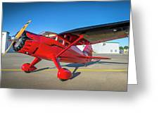 Stinson Reliant Rc Model 03 Greeting Card