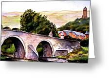 Stirling Bridge Greeting Card