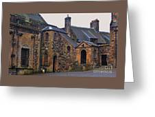 Stirling Castle Courtyard, Scotland Greeting Card