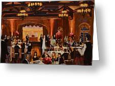 St.mary/marshall Wedding Greeting Card