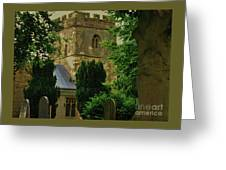 St. Nicholas Church, Yorkshire England Greeting Card