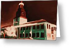 Stock Yards National Bank 537 3 Greeting Card