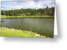 Stockade Lake In Custer State Park Greeting Card