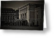 The Royal Swedish Opera Greeting Card