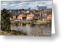 Stockholm From Skansen Greeting Card