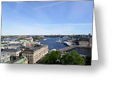 Stockholm In My Heart Greeting Card