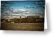 Stockholm Ix Greeting Card