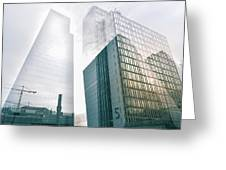 Stockholm Skyscraper No5 Greeting Card