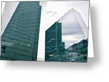 Stockholm Skyscrapers Greeting Card