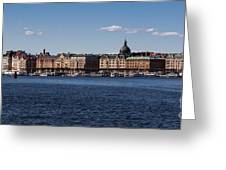 Stockholm Waterscape Greeting Card