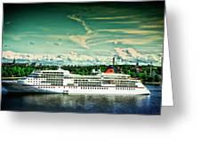 Stockholm X Greeting Card
