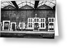 Stoke-on-trent Railway Station Uk Greeting Card