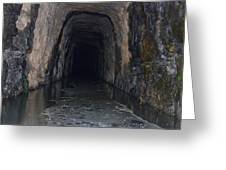 Stomp House Tunnel  Greeting Card